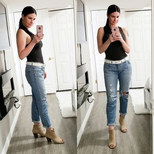 Levi's CT Vintage Style Distressed Destroyed Jeans